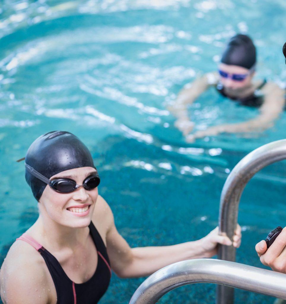 nutrición deportiva para natación